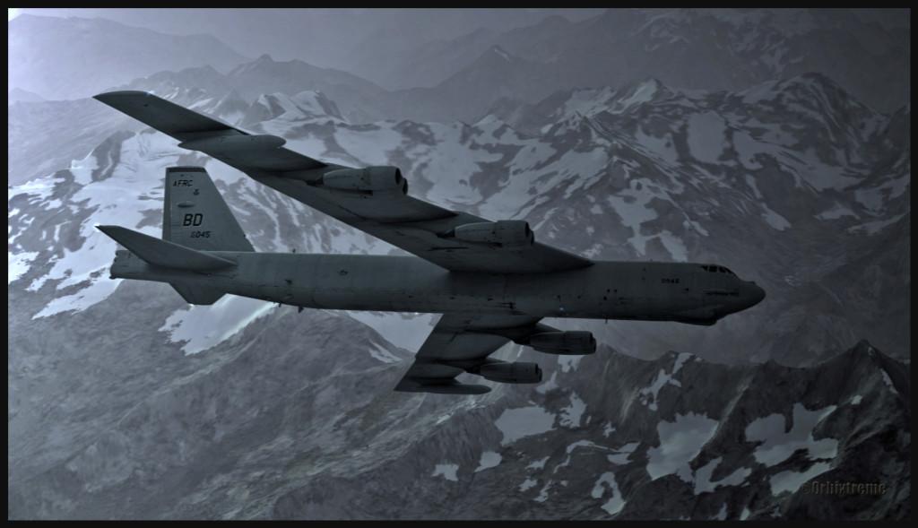 14213 B52 en début de mission