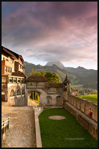 Gruyères, Suisse 2013