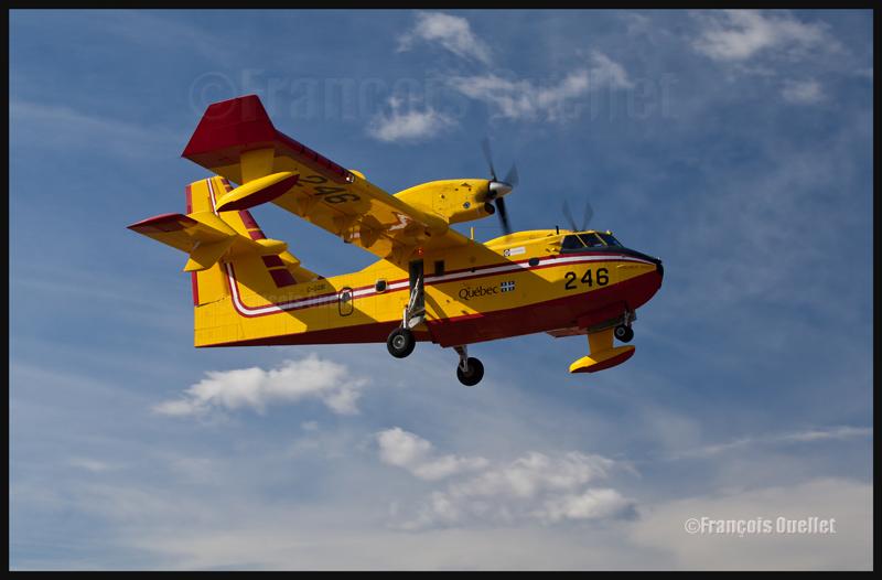 C-GQBI CL-415 Gouvernement du Québec