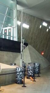 Station météo automatique allemande exposée au Musée de la Guerre à Ottawa