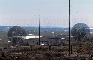 Vestiges de la base militaire américaine de Frobisher Bay (Iqaluit), Canada