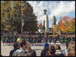 Dévoilement d'une plaque commémorative en l'honneur du caporal Nathan Cirillo à Ottawa le 22 Octobre 2015