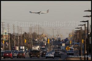 Air Canada Airbus A-330 final 06L Toronto 2016