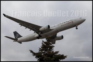 Air Canada Airbus A330-343 C-GHLM in Toronto 2016