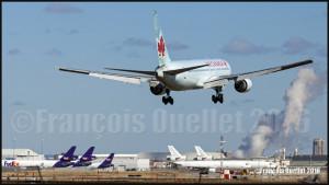 Air Canada Boeing 767-375 (ER) C-FCAB in Toronto 2016