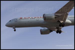 Air Canada Boeing 787-9 C-FNOI à Toronto 2016