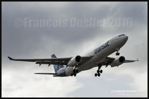 Air Transat Airbus A-330 C-GTSN Toronto 2016