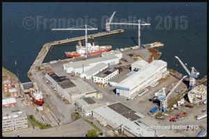 Davie shipyard in Quebec (2015)