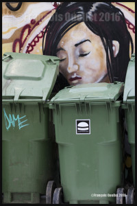 Of graffitis and garbage cans in Toronto
