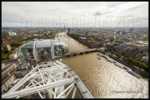 Photos de l'Angleterre: vue de Londres à partir du London Eye en 2015