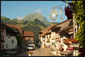 Gruyères et le Moléson en Suisse 2013