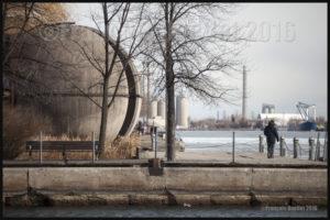Harbourfront de Toronto, hiver 2016
