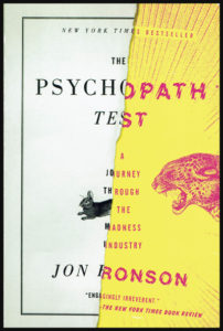 "Couverture du livre ""The Psychopath Test"" de Jon Ronson"