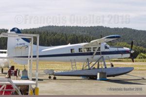 Turbo Otter DHC-3T C-GVTO à Victoria, Canada, en 2016