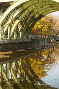 Reflets d'automne à Ottawa en 2015