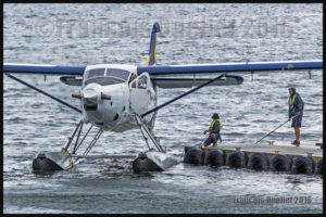 Saltspring Air Turbo Otter C-FLAP in Vancouver Harbour 2016