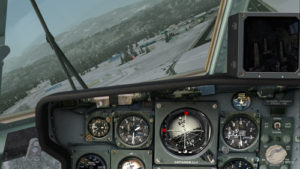 Speed 150 knots. End of the turn for the Bonners Ferry's airport.