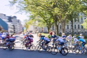 Grand Prix Cycliste Québec 2018 virage vers St-Louis