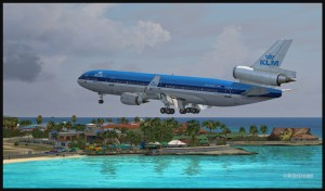 19370-KLM-MD11-short-final-for-St-Maarten-FSX-web