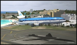 19371-KLM-MD11-over-runway-at-St-Maarten-FSX-web