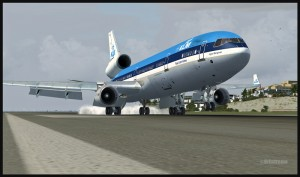 19372-KLM-MD11-touch-down-at-St-Maarten-FSX-web