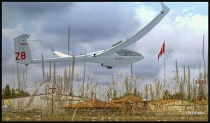 19537-Glider-and-Canadian-flag-in-Parry-Sound-fsx