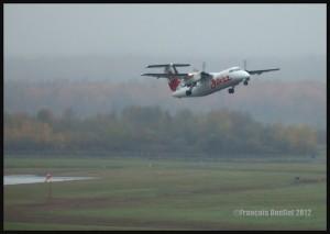 Photos: avions et hélicoptères à l'aéroport international Jean-Lesage de Québec